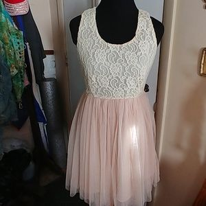 Moon collection Junior M retro romantic midi dress